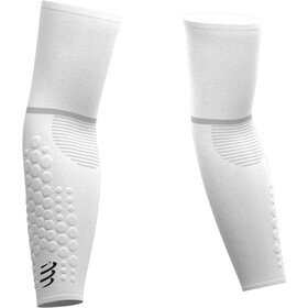 Compressport ArmForce Ultralight Manguitos, white